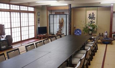 大広間(テーブル席)