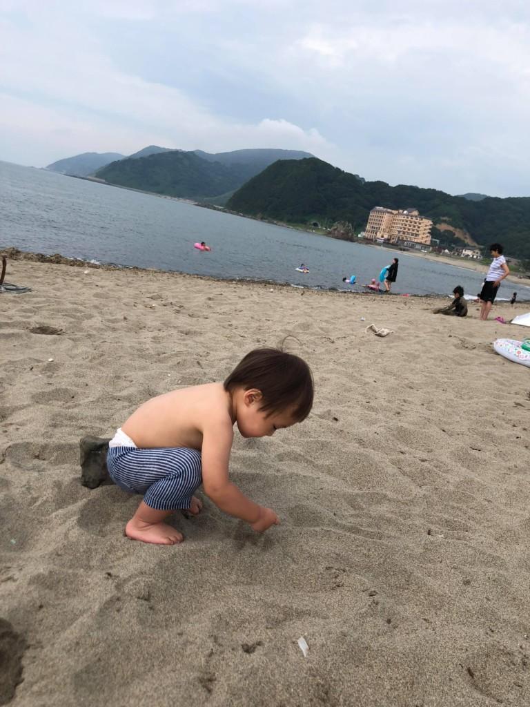 由良砂浜005