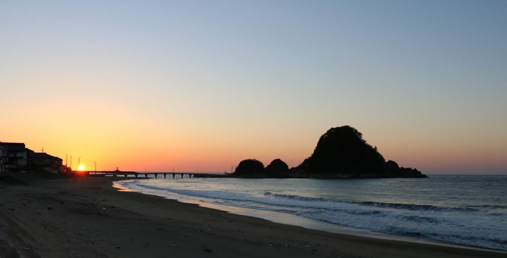 由良の夕日5