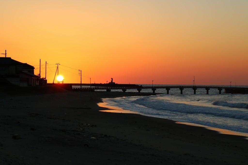 由良の夕日4