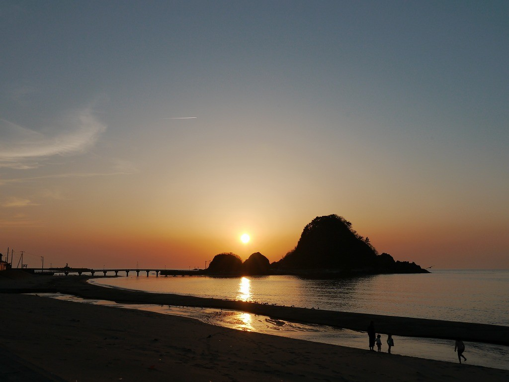 由良の夕日3