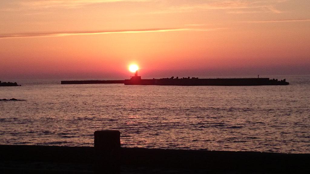 由良の夕日2
